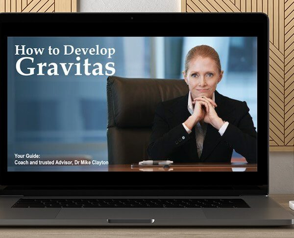 How to Develop Gravitas by Victor Cheng by https://koiforest.com/