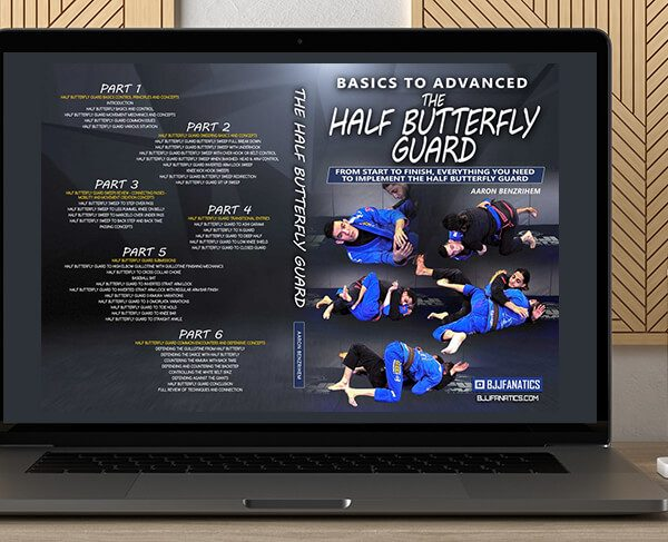 Aaron Benzrihem - Basics to Advanced - The Half Butterfly Guard by https://koiforest.com/