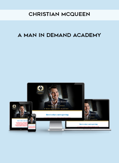 A Man In Demand Academy by Christian McQueen by https://koiforest.com/