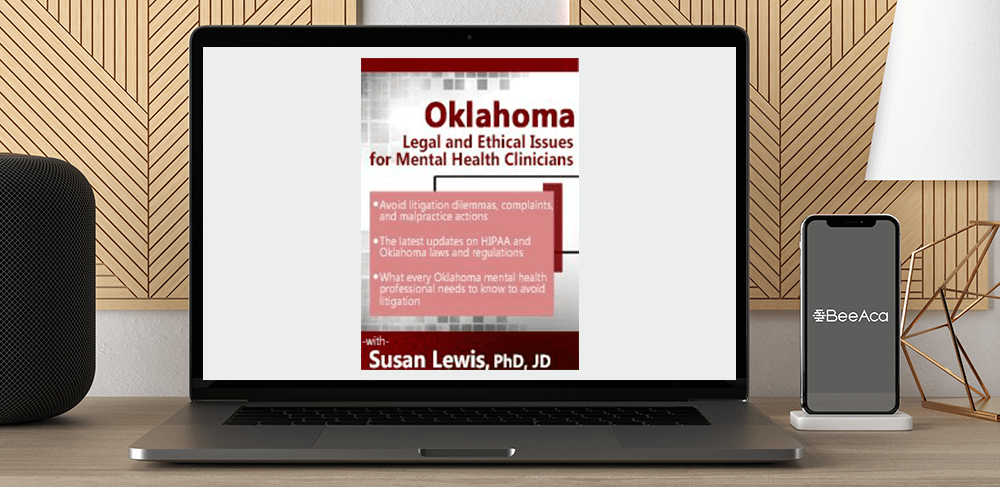 Susan Lewis - Oklahoma Legal and Ethical Issues for Mental Health Clinicians by https://koiforest.com/