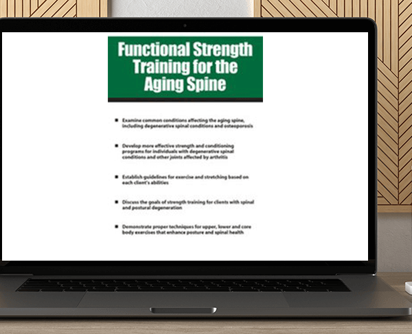 Shari Kalkstein - Functional Strength Training for the Aging Spine by https://koiforest.com/