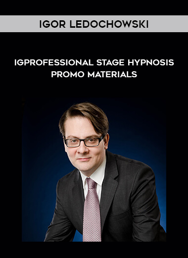 Igor Ledochowski - Professional Stage Hypnosis - Promo Materials by https://koiforest.com/