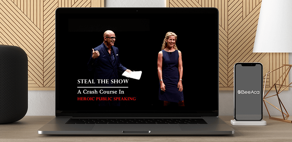 Micheal & Amy - Steal The Show A Crash Course In Heroic Public Speaking by https://koiforest.com/