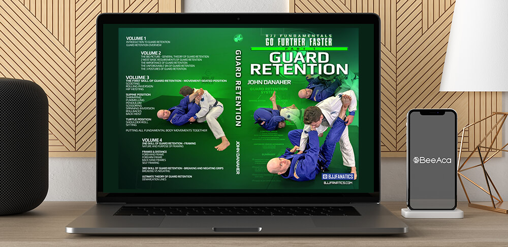 Guard Retention BJJ Fundamentals - Go Further Faster by John Danaher by https://koiforest.com/