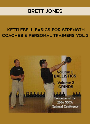 Brett Jones - Kettlebell Basics for Strength Coaches and Personal Trainers vol 2 by https://koiforest.com/