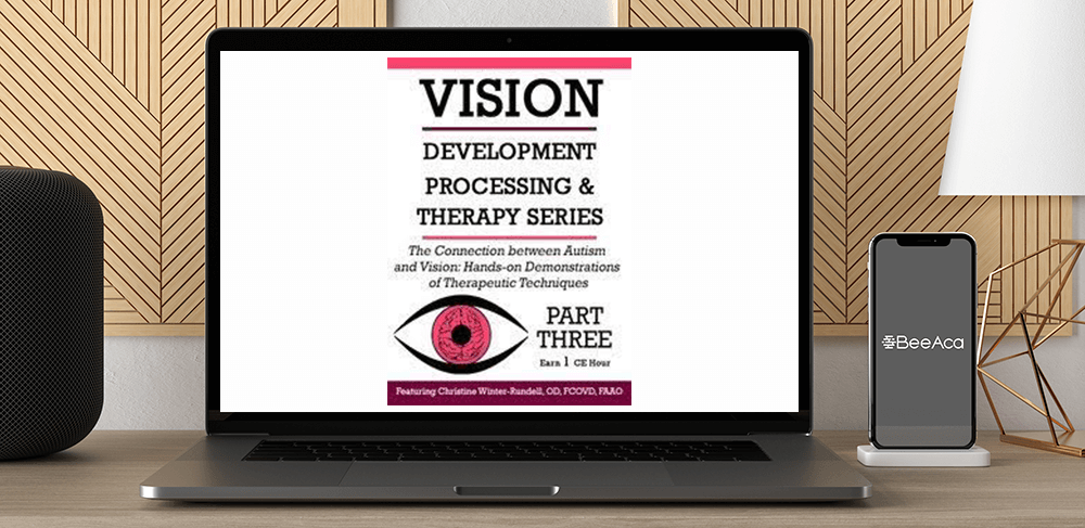 Christine Winter-Rundell - The Connection Between Autism and Vision: Hands-on Demonstrations of Therapeutic Techniques by https://koiforest.com/