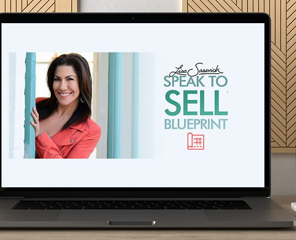 Speak to Sell 2.0 by Lisa Sasevich by https://koiforest.com/