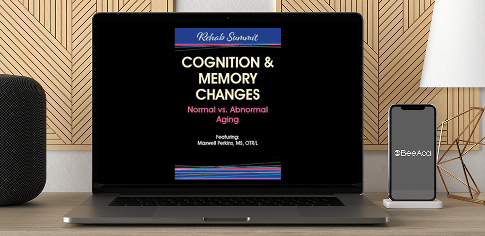 Maxwell Perkins - Cognition & Memory Changes: Normal vs Abnormal Aging by https://koiforest.com/