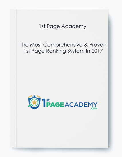 1st Page Academy – The Most Comprehensive and Proven 1st Page Ranking System In 2017 by https://koiforest.com/