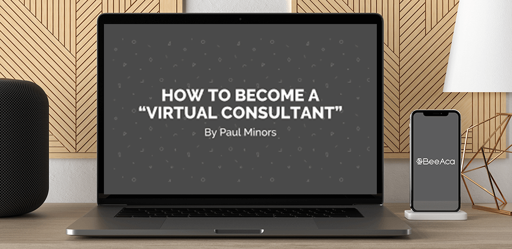 How To Become Virtual Consulting by Paul Minors by https://koiforest.com/