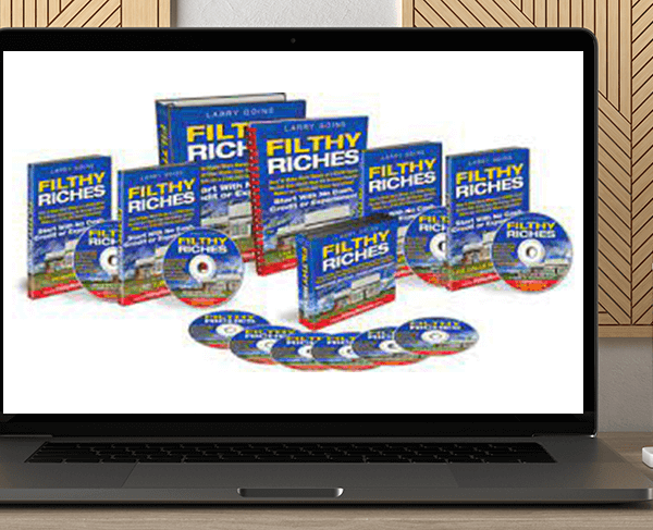 Filthy Riches Course by Larry Goins by https://koiforest.com/