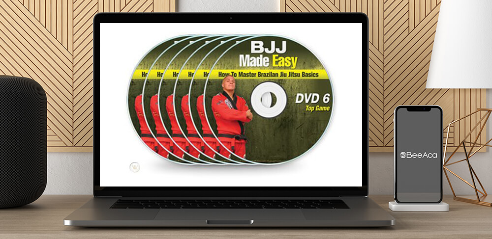 BJJ Made Easy Complete (6 DVD Set) by https://koiforest.com/