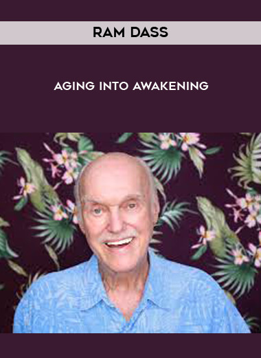 Aging into Awakening with Ram Dass by https://koiforest.com/