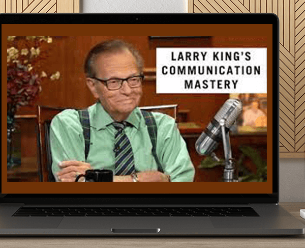 Larry King - Communication Mastery by https://koiforest.com/