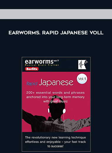 Earworms. Rapid Japanese voll by https://koiforest.com/