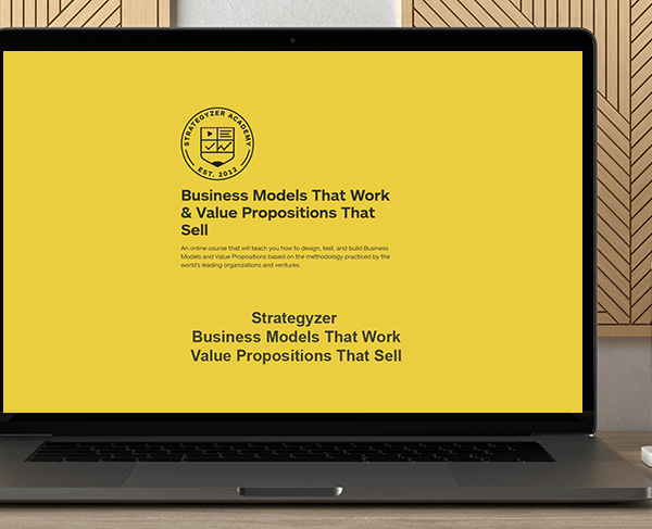 Strategyzer - Business Models That Work & Value Propositions That Sell by https://koiforest.com/