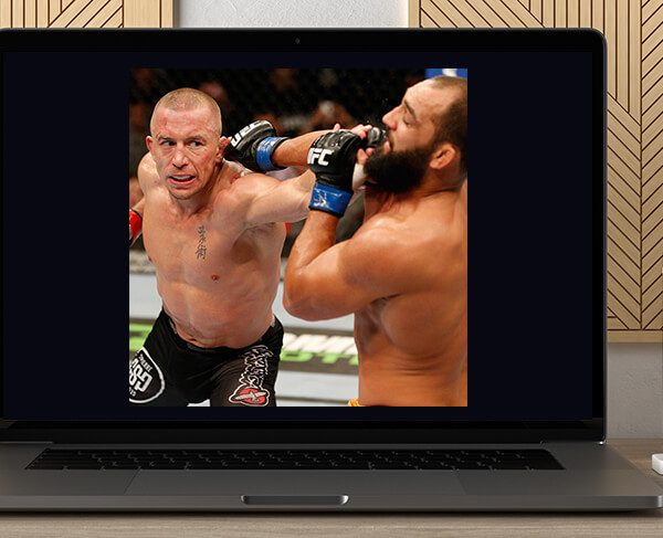 Georges St-Pierre Anthology by https://koiforest.com/