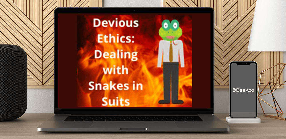 Devious Ethics: Dealing with Snakes in Suits by https://koiforest.com/