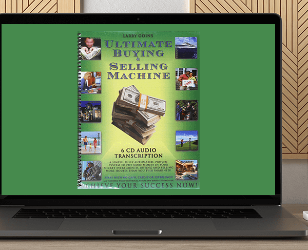 Ultimate Buying & Selling Machine - Larry Goins by https://koiforest.com/