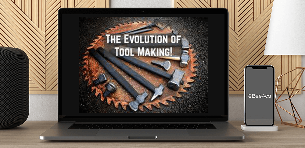 Alec Steele - The Evolution of Tool Making by https://koiforest.com/