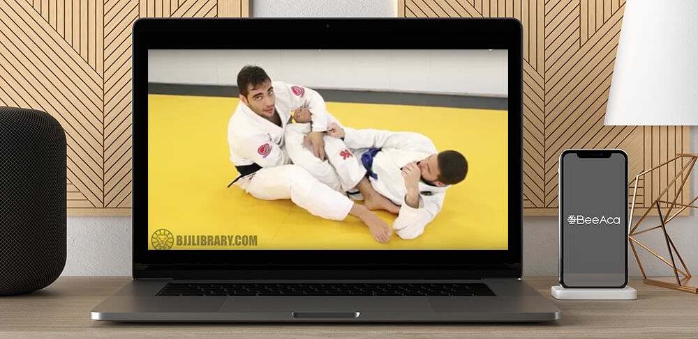 BJJ Library Luiz Panza Foot Locks and 50-50 Guard Series by https://koiforest.com/