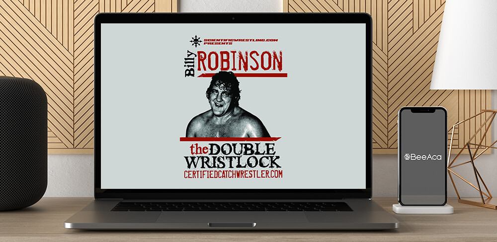 Billy Robinson - Double Wrist Lock - Catch Wrestling by https://koiforest.com/