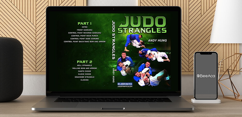 Andy Hung - Judo Strangles by https://koiforest.com/