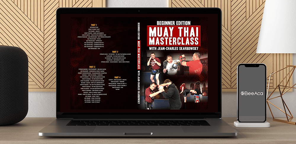 Jean Charles Starbowsky Muay Thai Masterclass Beginner Edition by https://koiforest.com/