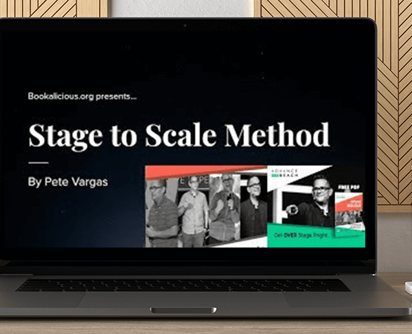 Pete Vargas - Stage to Scale Method Digital Course by https://koiforest.com/