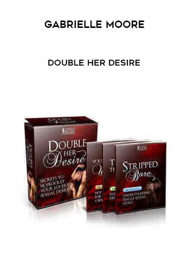 Gabrielle Moore - Double Her Desire by https://koiforest.com/