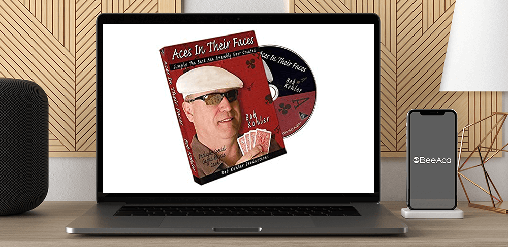 Bob Kohler - Aces In Their Faces by https://koiforest.com/