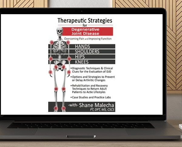 Shane Malecha - Therapeutic Strategies for Degenerative Joint Disease: Overcoming Pain and Improving Function by https://koiforest.com/