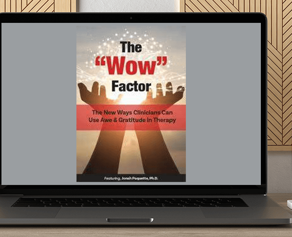 """Jonah Paquette - The """"Wow"""" Factor: The New Ways Clinicians Can Use Awe and Gratitude in Therapy by https://koiforest.com/"""