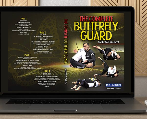 The Complete Butterfly Guard by Marcelo Garcia by https://koiforest.com/