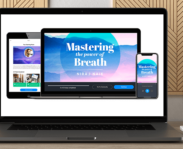 Mastering The Power Of Breath with Niraj Naik by https://koiforest.com/