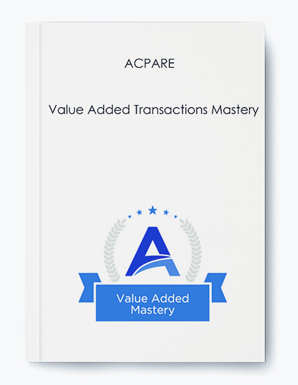 ACPARE – Value Added Transactions Mastery by https://koiforest.com/