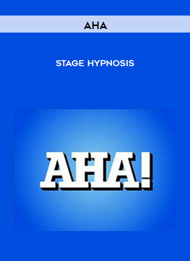 AHA - Stage Hypnosis by https://koiforest.com/