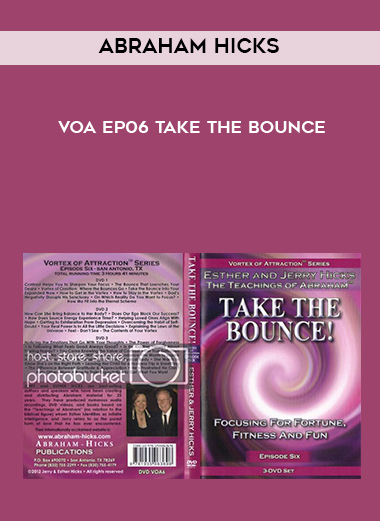 Abraham Hicks VOA EP06 Take The Bounce by https://koiforest.com/