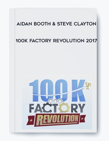 100K Factory Revolution 2017 by Aidan Booth & Steve Clayton by https://koiforest.com/