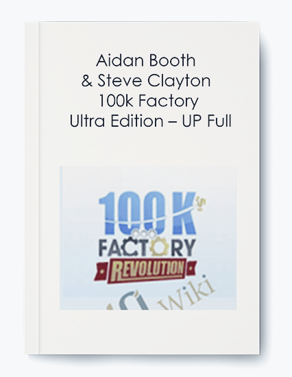 100k Factory – Ultra Edition – UP Full by Aidan Booth & Steve Clayton by https://koiforest.com/