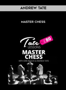Andrew Tate - Master Chess by https://koiforest.com/