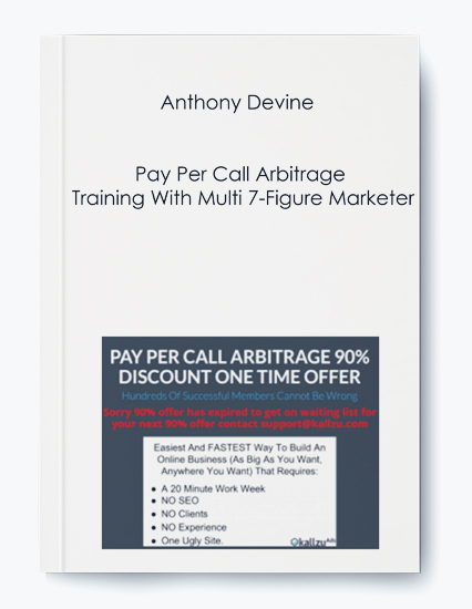 Pay Per Call Arbitrage Training With Multi 7-Figure Marketer by Anthony Devine by https://koiforest.com/