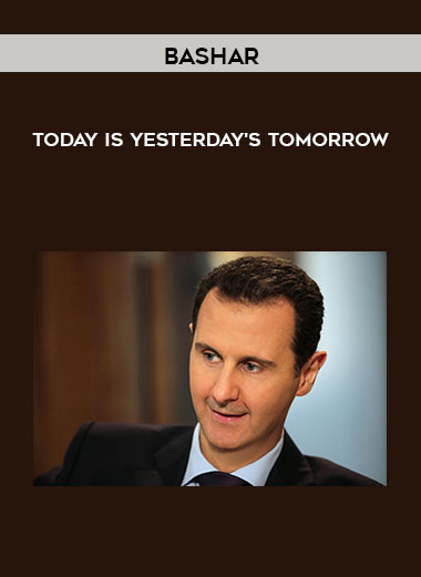 Bashar - Today is Yesterday's Tomorrow by https://koiforest.com/
