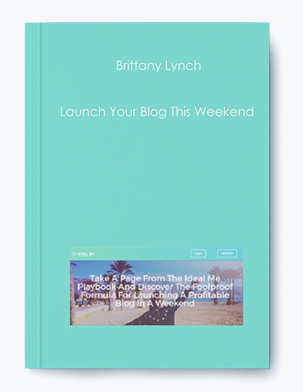 Launch Your Blog This Weekend by Brittany Lynch by https://koiforest.com/