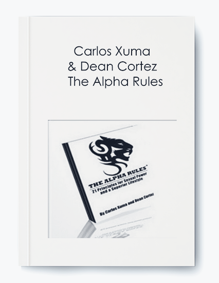 The Alpha Rules by Carlos Xuma & Dean Cortez by https://koiforest.com/