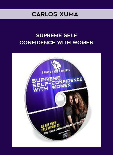 Carlos Xuma - Supreme Self-Confidence With Women by https://koiforest.com/