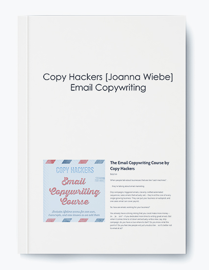 Email Copywriting by Copy Hackers Joanna Wiebe by https://koiforest.com/