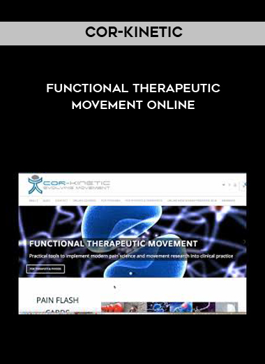 Cor-Kinetic - Functional Therapeutic Movement Online by https://koiforest.com/