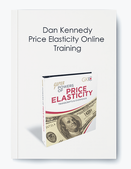 Price Elasticity Online Training by Dan Kennedy by https://koiforest.com/