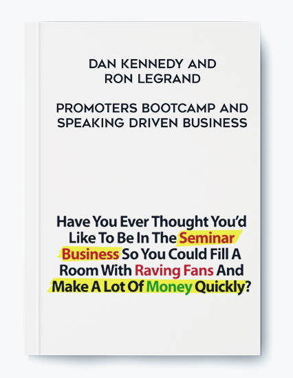 Promoters Bootcamp and Speaking Driven Business by Dan Kennedy and Ron LeGrand by https://koiforest.com/